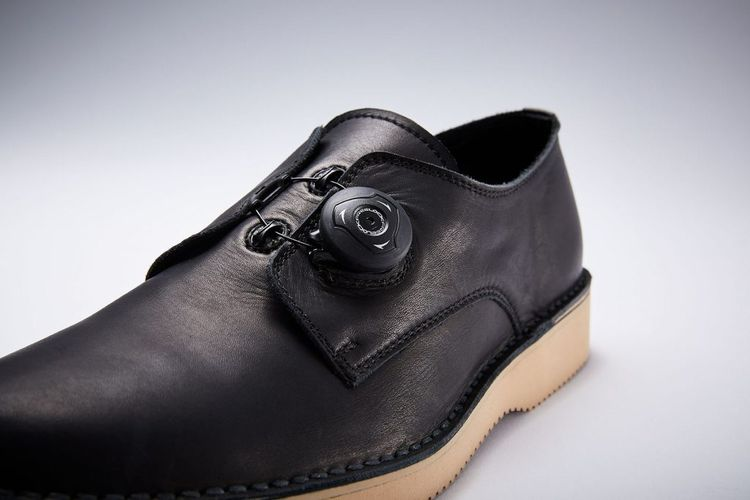 ARCOLLETTA PADRONE / DERBY PLAIN TOE SHOES (FREE LOCK)