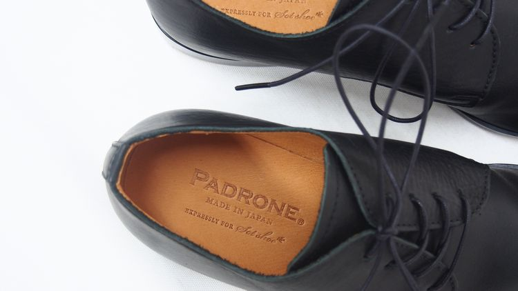 PADRONE × sot shoe 復刻別注モデル / zozotown