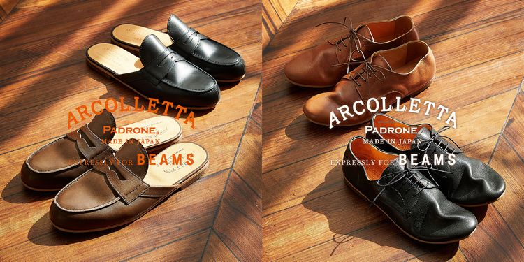 ARCOLLETTA PADRONE × BEAMS 別注モデル / 2019SS