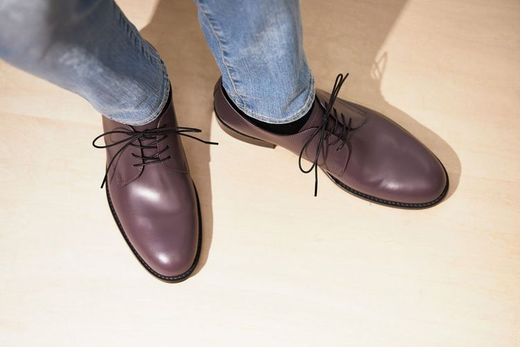2019AW ARCOLLETTA PADRONE / DERBY PLAIN TOE SHOES