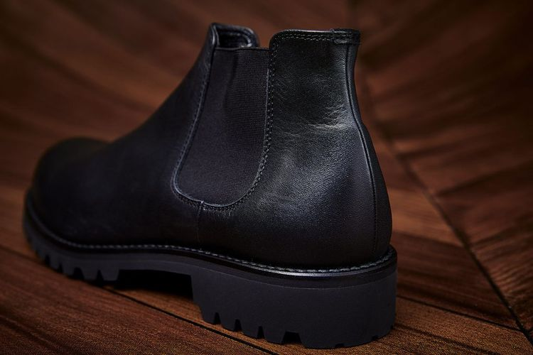2019AW PADRONE / SIDE GORE BOOTS ( WATER PROOF LEATHER )